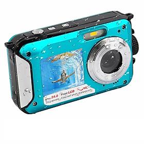 Underwater Camera Digital Camera 24 MP 1080P Camera with Selfie Mode