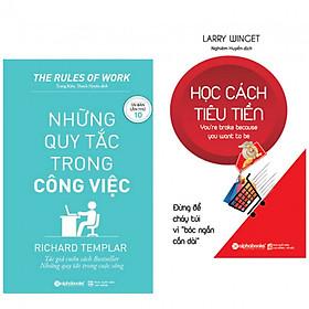 Combo sách hay : Những quy tắc trong công việc - công việc đơn giản + Học cách tiêu tiền - Tiêu tiền pù hợp - Tặng kèm bookark thiết kế