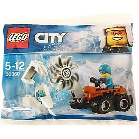 Đồ Chơi LEGO CITY Máy Cưa Phá Băng  30360