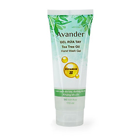 Gel rửa tay kháng khuẩn Tea Tree Oil Avander 110ml