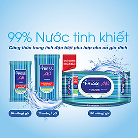 Combo10 Khăn ướt Fressi care For All 20 miếng