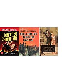 Combo 3 cuốn truyện kinh điển hay nhất: Cuốn theo chiều gió + Tiếng chim hót trong bụi mận gai + Kiêu Hãnh Và Định Kiến