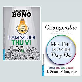 Combo Sách Kỹ Năng Sống Thay Đổi Cuộc Đời: Làm Người Thú Vị + Mọi Thứ Đều Có Thể Thay Đổi / Thay đổi cách bạn nhìn thấy bản thân mình và thế giới sẽ thay đổi cách nhìn nhận với bạn