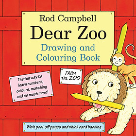 Sách tô màu The Dear Zoo Drawing And Colouring Book