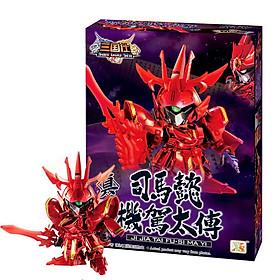 Đồ Chơi Nhựa - Đồ Chơi Gundam Tam Quốc Lắp Ghép, Xếp Hình