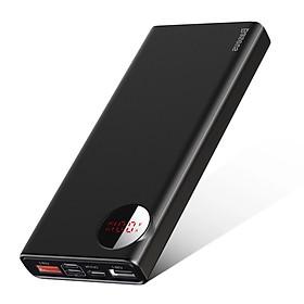 Pin sạc dự phòng Baseus Amblight Quick Charger 20,000mAh (18W, QC 3.0 + PD 3.0 Power Delivery, LED, 2 Port USB + Type C in/out) - Hàng chính hãng