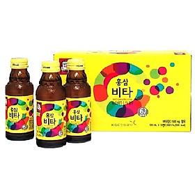 Nước hồng sâm Hàn Quốc Vita KGC Cheong Kwan Jang hộp 10 chai x 100ml