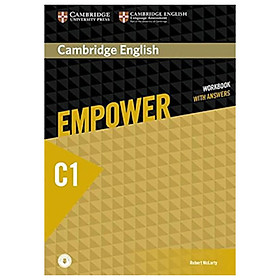 Cambridge English Empower Advanced Workbook with Answers with Downloadable Audio
