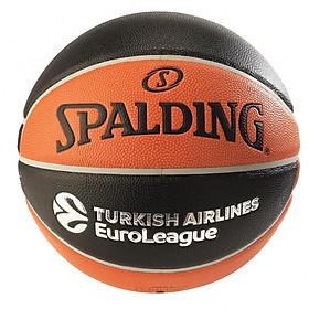 Bóng rổ Spalding Turkish Airlines Euro League TF 500- Indoor/Outdoor size 7- Tặng Kim bơm bóng và túi lưới đựng bóng