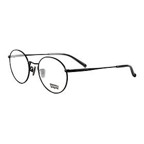 Hình đại diện sản phẩm Levis Levis neutral black frame black temple plate full frame optical glasses frame glasses frame LS97041 CO1 MBLK 49MM