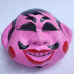 Mặt nạ trung thu truyền thống màu hồng - Mẫu đàn ông