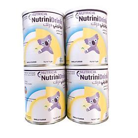 Combo 4 HộpSữa Bột Nutricia NutriniDrink Hương Vanilla (400g)