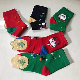 Set 5 Đôi Vớ Noel cho bé