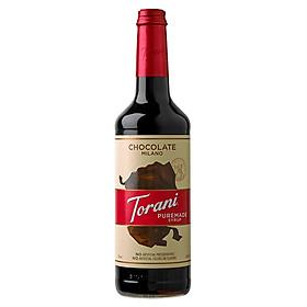 Sirô Torani Puremade Chocolate Milano - Milano Chocolate Syrup 750ml