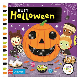 Cambell Fush Full Slide Series: Busy Halloween