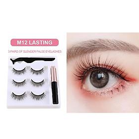 Magnetic Eyelash Liquid Eyeliner Magnetic False Eyelashes Tweezer Set Eyelash Extension Tools