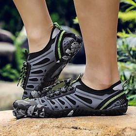 Giày đi nước chống trơn trượt, nhẹ, thoáng, phù hợp đi du lich, leo núi, thân thiện với môi trường, chịu nước tốt và nhanh khô (SA053-G)-0