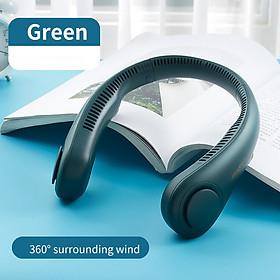 Quạt mini đeo cổ không cánh Jisulife FA12_Biên độ thổi rộng 360 độ mát mẻ dễ chịu, có thể sử dụng trong 10h - Hàng chính hãng