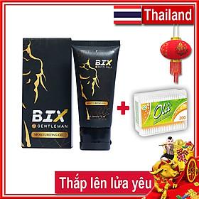Combo Gel Bôi Tăng Cường Sinh Lý Phái Nam Bix 15ml (Dùng được 15 lần) - Chính hãng Thái Lan + Tăm Bông Ola Ba Lan