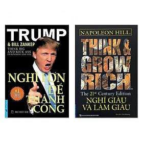 Combo 2 cuốn: Nghĩ Lớn Để Thành Công, Think & Grow Rich - Nghĩ Giàu Và Làm Giàu