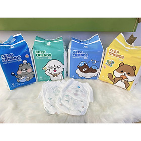 Tã quần nội địa Hàn Quốc Enblanc Keep Friend size 4 bé gái (L 26 miếng)-2