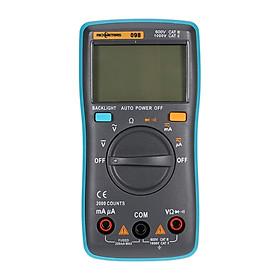 Đồng Hồ Đa Năng Kỹ Thuật Số Tự Động Màn Hình Lcd Đo Dòng Điện AC/DC Đo Điện Trở Diode Rm098 Nhận Dạng Phân Cực Tự Động Richmeters