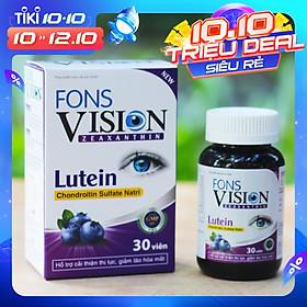 Viên uống bổ mắt, tăng cường thị lực Fons Vision (30 viên)