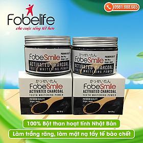 {Combo } 2 Hũ Bột trắng răng Nhật Bản- Fobe Smile- Hũ 30 gram