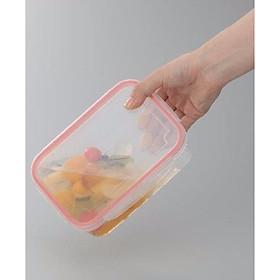 Bộ 2 hộp bảo quản thực phẩm tươi trong tủ lạnh tiện lợi - Hàng nội địa Nhật