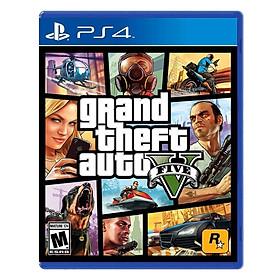 Đĩa Game PlayStation PS4 Sony GTA Grand Theft Auto V Hệ US - Hàng nhập khẩu