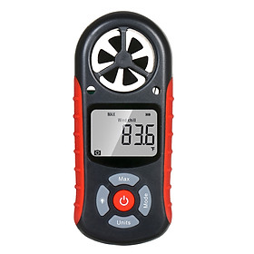 8 in 1 Handheld Digital Anemometer Wind Speed/Wind Chill/Temperature/Humidity/Heat Index/Dew Point/Barometric