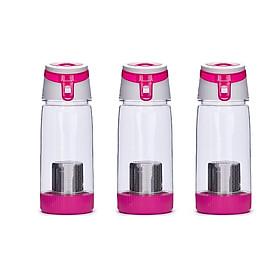 3 Bình lọc khoáng silica màu hồng