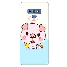 Ốp lưng dẻo cho Samsung Galaxy Note 9_Pig 03