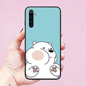 Ốp lưng dành cho điện thoại Realme 6 hình Chú Gấu Cute