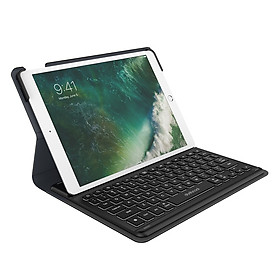 Bàn Phím Dodocool MFi Với Đầu Nối Thông Minh Vỏ Bảo Vệ Phím Tắt Tự Động Và Giá Đỡ Cho iPad Air 2019 10.5-inch Bút Chì Apple Đen