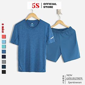 Bộ Thể Thao Nam 5S (8 màu), Chất Liệu Coolmax Siêu Mát, Dáng Thể Thao Trẻ Trung, Năng Động (BTSO21051)