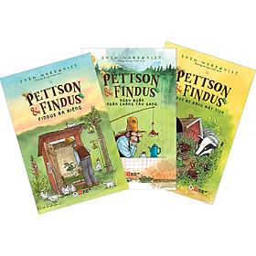 Combo 1 - Pettson Và Findus: Findus Bé Bỏng Mất Tích + Findus Ra Riêng + Ngày Buồn Chẳng Tày Gang (3 Cuốn)