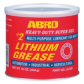 Mỡ Bò Đỏ Abro Super Red Lithium Grease