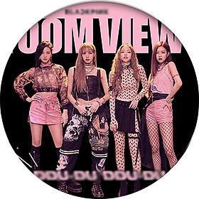 Huy hiệu in hình BlackPink nhóm nhạc idol dễ thương huy hiệu cài áo (MẪU GIAO NGẪU NHIÊN)