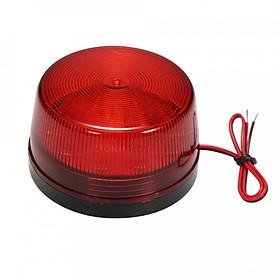 Đèn LED Báo Động Nhấp Nháy Chống Nước Có Dây (12V)