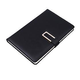 Sổ tay kẻ ngang bìa da khóa cài nam châm A5 120 trang 14,5x21,2cm