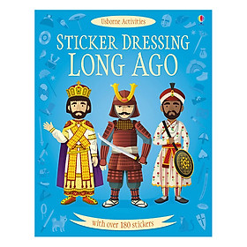 Usborne Sticker Long Ago