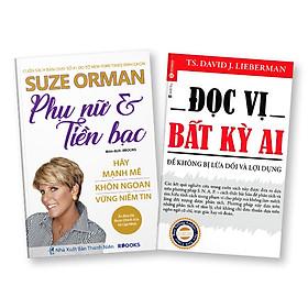 Bộ 2 Cuốn Phụ Nữ & Tiền Bạc + Đọc Vị Bất Kỳ Ai