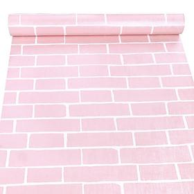 10m Giấy dán tường giả gạch hồng C0049A