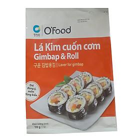 Lá Kim Rong Biển Cuốn Cơm, Gimbap, Sushi Hàn Quốc O'Food (5 Tấm)