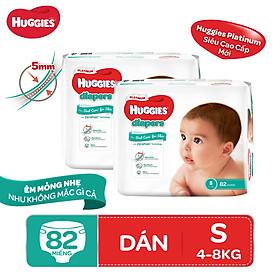 Biểu đồ lịch sử biến động giá bán Combo 2 tã dán Huggies Diapers Platinum S82