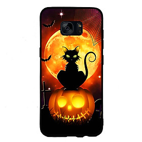 Hình đại diện sản phẩm Ốp lưng Halloween viền TPU cho điện thoại Samsung Galaxy S6 - Mẫu 05
