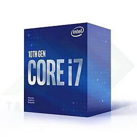 CPU Intel Core i7-10700F (2.9GHz turbo up to 4.8GHz, 8 nhân 16 luồng, 16MB Cache, 65W) - Socket Intel LGA 1200 - Hàng Chính Hãng