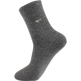 Seven wolves socks men's autumn and winter thick warm wool socks soft and comfortable business men's socks all code 5 double gift box 91951