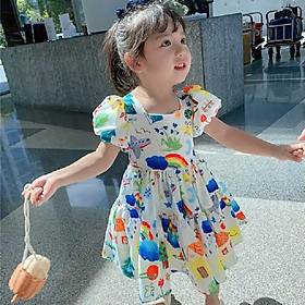 Váy đầm công chúa bé gái siêu hót từ 8-20kg